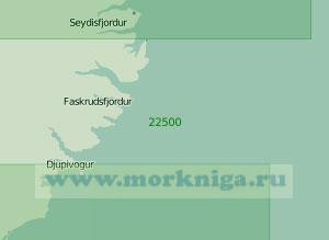 22500 От мыса Далатаунги до бухты Лоунсвик (Масштаб 1:200 000)