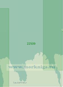 22509 От полуострова Скайи до Эйя-фьорд (Масштаб 1:200 000)