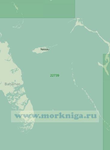 22739 Пролив Норт-Ист-Провиденс-Чаннел (Масштаб 1:200 000)