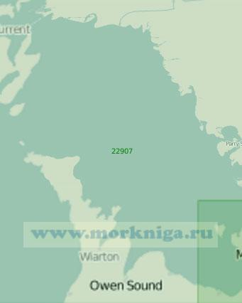 22907 Озеро Гурон. Залив Джорджиан - Бей (Масштаб 1: 200 000)