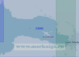 23000 От Санкт-Петербурга до маяка Шепелевский (Масштаб 1:100 000)