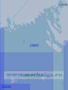 23001 От Приморска до маяка Соммерс (Масштаб 1:100 000)