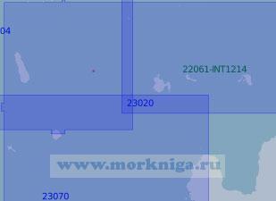23020 От мыса Колганпя до острова Гогланд (Масштаб 1:100 000)
