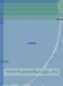 23055 От порта Клайпеда до мыса Таран (Масштаб 1:100 000)