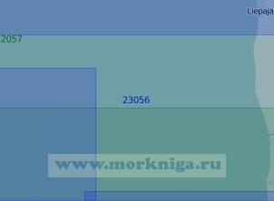 23056 От порта Лиепая до гавани Швянтойи (Масштаб 1:100 000)
