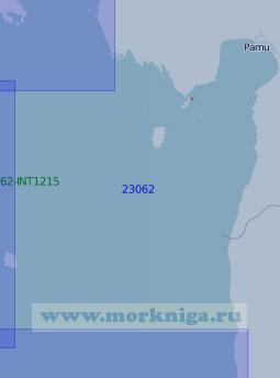 23062 От острова Рухну до порта Пярну (Масштаб 1:100 000)