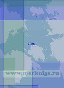 23063 Пролив Муху-Вяйн (Масштаб 1:100 000)