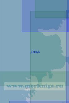 23064 От маяка Тахкуна до маяка Вилсанди (Масштаб 1:100 000)