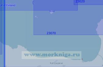 23070 Нарвский залив (Масштаб 1:100 000)