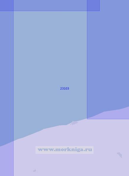 23103 От маяка Гонски до маяка Нехоже (Масштаб 1:100 000)