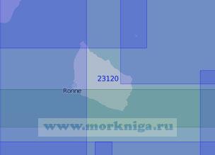 23120 Остров Борнхольм с подходами (Масштаб 1:100 000)
