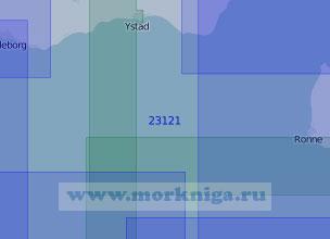 23121 От острова Борнхольм до порта Треллеборг (Масштаб 1:100 000)
