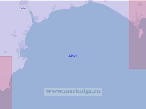 23404 От полуострова Портленд до мыса Старт (Масштаб 1:100 000)