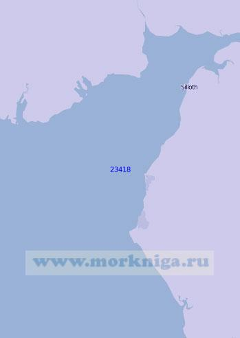 23418 Залив Солуэй-Ферт с подходами (Масштаб 1:100 000)