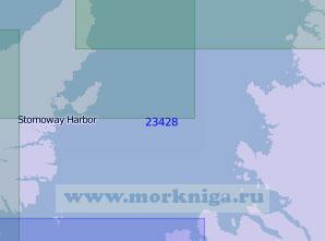 23428 Пролив Норт-Минч (Масштаб 1:100 000)