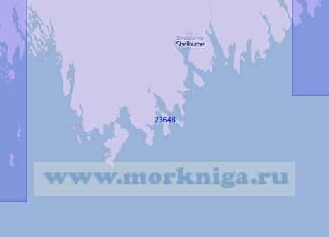 23648 От острова Литл-Хоп до острова Сил (Масштаб 1:100 000)