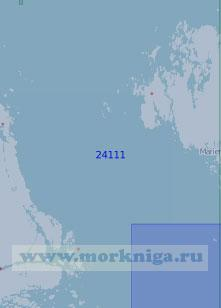 24111 Пролив Сёдра-Кваркен с подходами (Масштаб 1:100 000)