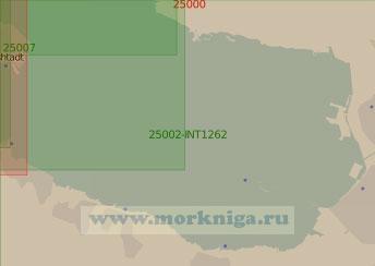25002-INT1262 От Санкт-Петербурга до Кронштадта (Масштаб 1:25 000)
