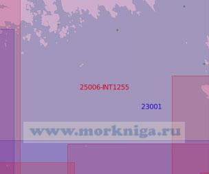 25006-INT1255 От острова Вихревой до острова Паррио (Масштаб 1:50 000)
