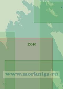 25010 От полуострова Киперорт до мыса Крестовый (Масштаб 1:25 000)