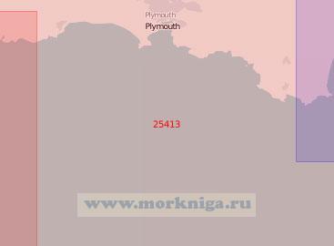 25413 От мыса Старт до порта Фой (Масштаб 1:75 000)