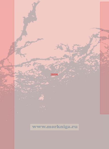26006 От пролива Барёнсалми (Барёсунд) до острова Сегельшер (Масштаб 1:50 000)