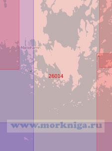 26014 От порта Маарианхамина (Мариехамн) до острова Флисё (Масштаб 1:50 000)