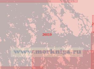 26019 От порта Наантали (Нодендаль) до острова Кауриссало (Масштаб 1:50 000)