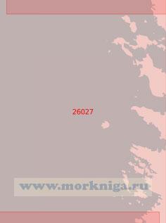 26027 Подходы к порту Пори (Бьёрнеборг) (Масштаб 1:50 000)
