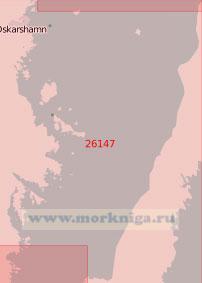 26147 Северная часть пролива Кальмарсунд (Масштаб 1:50 000)