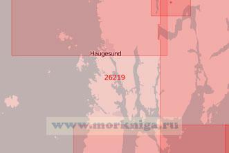 26219 От острова Ярстейнен до порта Хёугесунн (Масштаб 1:50 000)