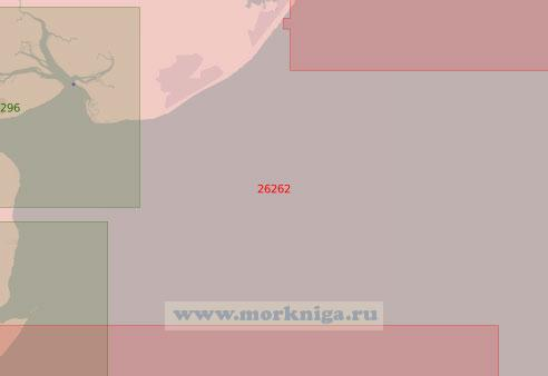 26262 Устье Темзы. Северная часть (Масштаб 1: 50 000)