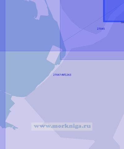 27047-INT1263 Морской порт Санкт Петербург (Масштаб 1:10 000)