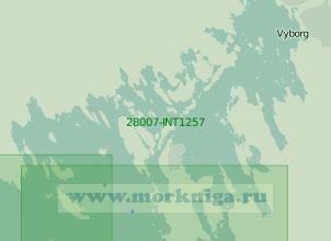 28007-INT1257 Подходы к портам Высоцк и Выборг (Масштаб 1:25 000)
