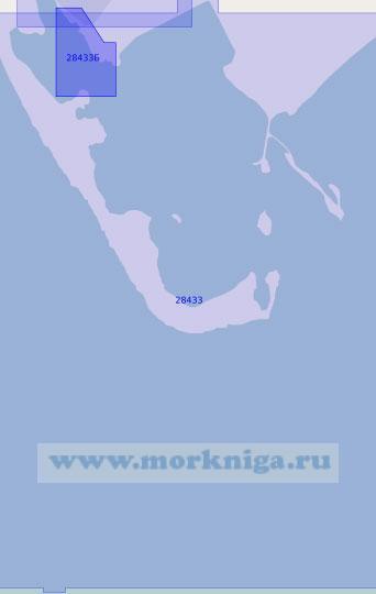 28433 Порт Барроу-ин-Фернесс с подходами (Масштаб 1:12 500)