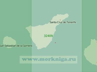 32409 От острова Гран-Канария до острова Гомера с островом Тенерифе (Масштаб 1:200 000)