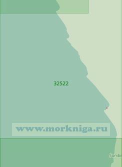 32522 От мыса Леду до мыса Кикомбо (Масштаб 1:200 000)