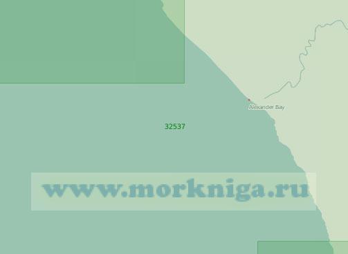 32537 От реки Оранжевая до реки Бюффелс (Масштаб 1:200 000)