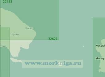 32621 Пролив Мона (Масштаб 1:200 000)