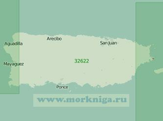 32622 Остров Пуэрто-Рико (Масштаб 1:200 000)