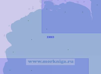 33003 От мыса Шахова Коса до мыса Пирсагат (Масштаб 1:100 000)