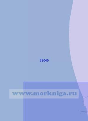 33046 От портпункта Окарем до Гасан-Кулийского рейда (Масштаб 1:100 000)