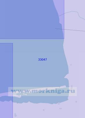 33047 Подходы к порту Бендер-Торкемен (Масштаб 1:100 000)