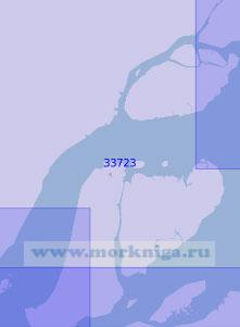 33723 От мыса Сеу до островов Педрейра (Масштаб 1:100 000)