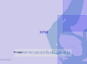 33724 От островов Педрейра до порта Сантана (Масштаб 1:100 000)