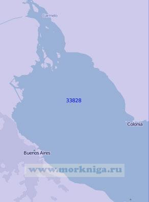 33828 От порта Буэнос-Айрес до порта Кармело (Масштаб 1:100 000)