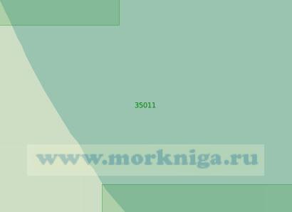 35011 Подходы к селению Новокаякент (Масштаб 1:25 000)