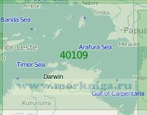40109 Тиморское и Арафурское моря (Масштаб 1:2 000 000)