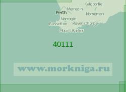 40111 Район к юго-западу от Австралии (Масштаб 1:2 000 000)