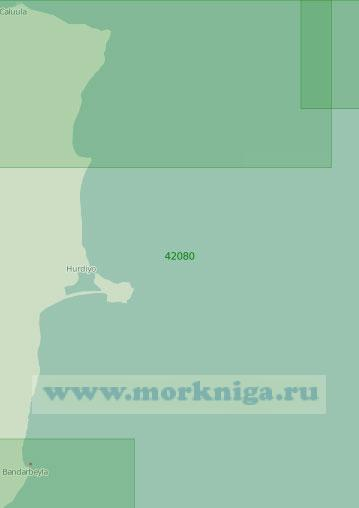 42080 От города Бандарбейла до мыса Гвардафуй (Рас-Асейр) (Масштаб 1:300 000)